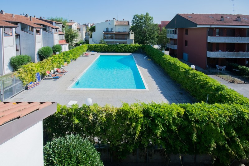 Lido di Spina,  appartement pour 4/5 personnes, avec piscine - Residence Athena H1